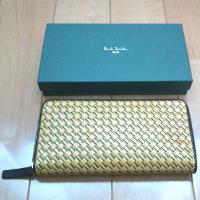ポールスミスの財布と箱です。