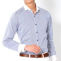 ビズフロントのクールビズ長袖シャツです。