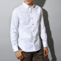 スプートニクスのオックスフォード白シャツです。