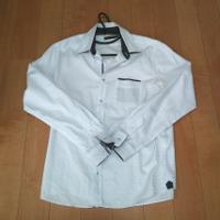 メンズメルローズの白長袖シャツです。