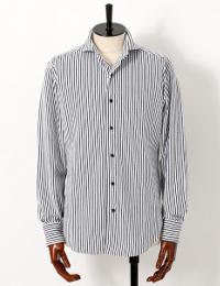 アバハウスのきれいめ長袖シャツです。