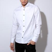ASMの長袖白シャツです。