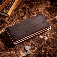 ココマイスターのビジネス向け長財布です。