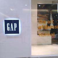 GAPの店舗です。