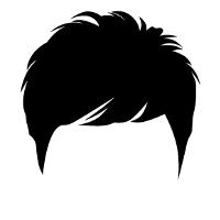 ショートの髪型です。