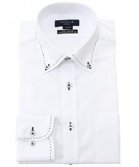 タカキューの白系ワイシャツです。