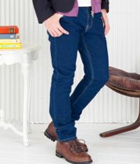 メンズファッションプラスのストレートジーンズです。