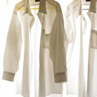 ワイシャツの洗濯頻度について。