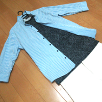 ZARA文字プリント入りTシャツのコーデ2です。