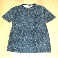 ZARA文字プリント入りTシャツです。