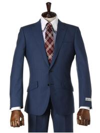 PSFAのブルー無地スーツです。