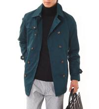 ビズフロントのブルーグリーンコートです。
