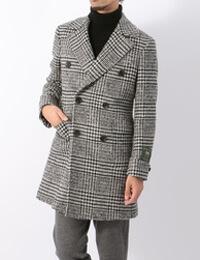 スーツカンパニーのビジカジコートです。