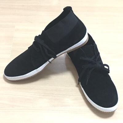 フットスタイルのスエード靴