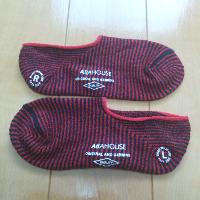 アバハウスの靴下です。