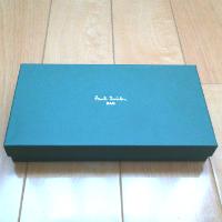 ポールスミスの財布の箱です。