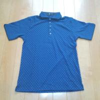 エムケーオムのグリッドブロックポロシャツ2です。