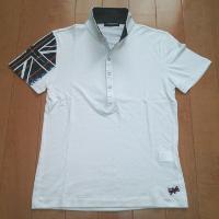 ハイダウェイ ニコルのユニオンプリントポロシャツです。