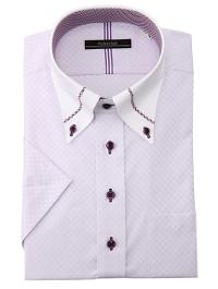 PSFAの半袖ドレスシャツ