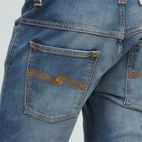ヌーディージーンズの後ポケットです。
