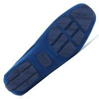 モダンブルーのドライビングシューズの靴底です。