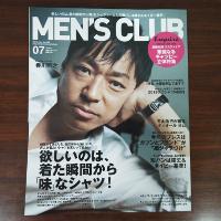 MEN'S CLUB (メンズクラブ)です。
