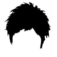 ベリーショートの髪型です。