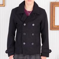 メンズファッション+のPコートです。