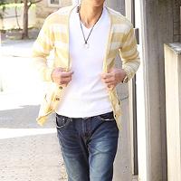 メンズスタイルの20代のモテる男のコーデ例です。