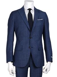 スーツセレクトのネイビースーツコーデです。