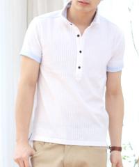 スプートニクスの白ポロシャツです。
