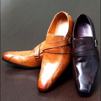 ビズフロントのモンク靴です。