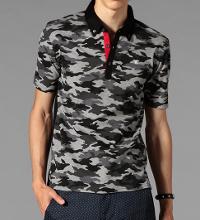 ギルドプライムの迷彩柄ポロシャツです。