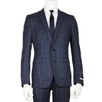 スーツセレクトのブルー柄スーツです。