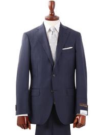 ブルーエグリージオのブルー無地スーツです。