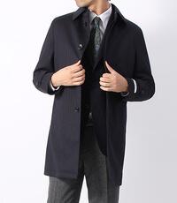 スーツカンパニーのステンカラーコートです。