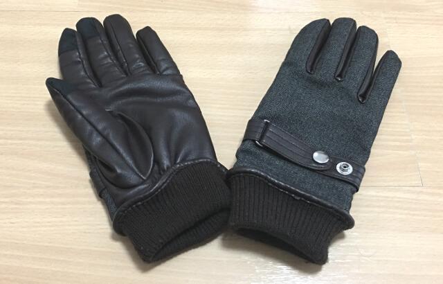メンズメルローズの手袋です。