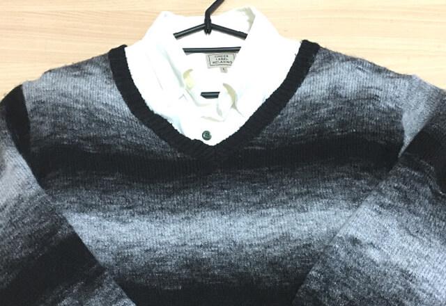 セーターです。